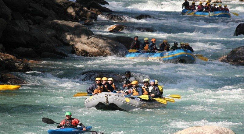 Best places for rafting in Nepal
